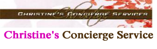 Christine's Concierge Service